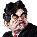 Adrian Teal Caricature Cartoon Example