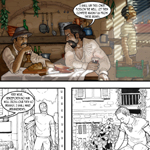 Alwyn Talbot Comic Book Art Cartoon Example