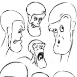 Billy Allison Character Design Cartoon Example