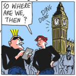 Patrick Blower Gag Cartoon Cartoon Example