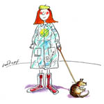 Caroline Holden Children's Illustration Cartoon Example