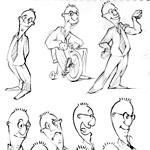 Cezary Kwasny Character Design Cartoon Example