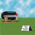 Charlie Moore Gag Cartoon Cartoon Example