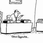 Dave Carpenter Gag Cartoon Cartoon Example