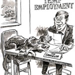 David Glover Editorial/Newspaper Cartoon Example