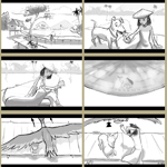 Ewen Nguyen Storyboards Cartoon Example