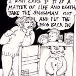 Helen Cusack Gag Cartoon