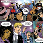 Kev Hopgood Comic Book Art Cartoon Example
