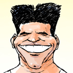 Huw Aaron Caricature Cartoon Example