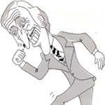 Jim Naylor Caricature Cartoon Example