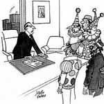 Joseph Farris Gag Cartoon Cartoon Example