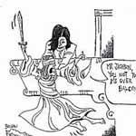 Linda Boileau Gag Cartoon Cartoon Example