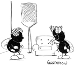Mark Gustafson Gag Cartoon Cartoon Example