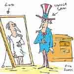 Nik Scott Gag Cartoon Cartoon Example