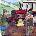 Oliver Preston Traditional Illustration Cartoon Example