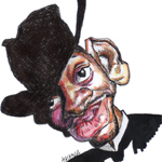 Patrick Gathara Caricature