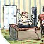 Peter King Gag Cartoon Cartoon Example
