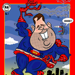 Rich Barry Caricature Cartoon Example