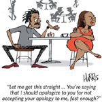 Richard Harris Jr Gag Cartoon Cartoon Example