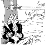 Rob Moran Gag Cartoon Cartoon Example