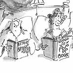 Sewell Gag Cartoon Cartoon Example