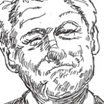 John Stinger Caricature Cartoon Example