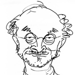 Ted Harrison Caricature Cartoon Example
